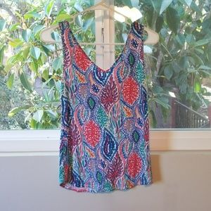 Lilly Pulitzer stretchy tank